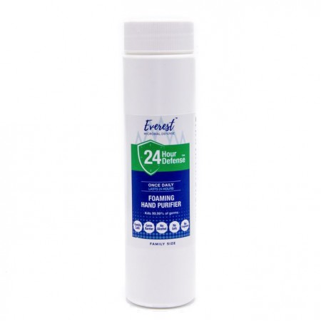 24 Hour Defense™ Foaming Hand Purifier   Family Size 8oz