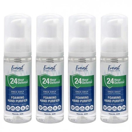 24 Hour Defense™ Foaming Hand Purifier | Travel 4 Pack
